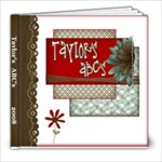 Taylor ABC s - 8x8 Photo Book (20 pages)
