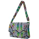 Supersonic volcano snowman Full Print Messenger Bag