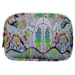Supersonic volcano snowman Make Up Pouch (Small)