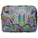 Supersonic volcano snowman Make Up Pouch (Large)
