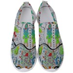 Supersonic volcano snowman Men s Slip On Sneakers