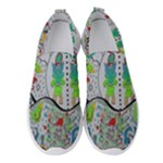 Supersonic volcano snowman Women s Slip On Sneakers
