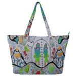 Supersonic volcano snowman Full Print Shoulder Bag