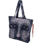 Foam Man Photo Manipulation Poster Drawstring Tote Bag