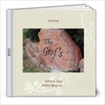 Memories of Home 2008 - 8x8 Photo Book (30 pages)