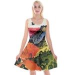 Georgia_O Keeffe,_Canyon_with_Crows-1 Reversible Velvet Sleeveless Dress