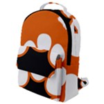 Flag Map of Northern Territory Flap Pocket Backpack (Small)