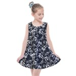 Fancy Floral Pattern Kids  Summer Dress