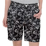 Fancy Floral Pattern Pocket Shorts