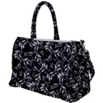Fancy Floral Pattern Duffel Travel Bag