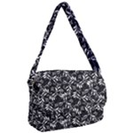 Fancy Floral Pattern Courier Bag