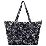 Fancy Floral Pattern Full Print Shoulder Bag