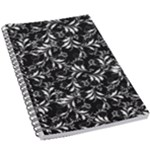 Fancy Floral Pattern 5.5  x 8.5  Notebook