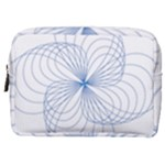 Spirograph Pattern Drawing Make Up Pouch (Medium)
