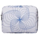 Spirograph Pattern Drawing Make Up Pouch (Large)