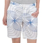 Spirograph Pattern Drawing Pocket Shorts