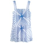 Spirograph Pattern Drawing Kids  Layered Skirt Swimsuit