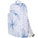 Spirograph Pattern Drawing Double Compartment Backpack