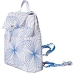 Spirograph Pattern Drawing Buckle Everyday Backpack