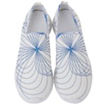 Spirograph Pattern Drawing Men s Slip On Sneakers