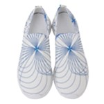 Spirograph Pattern Drawing Women s Slip On Sneakers