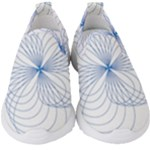 Spirograph Pattern Drawing Kids  Slip On Sneakers