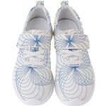 Spirograph Pattern Drawing Men s Velcro Strap Shoes