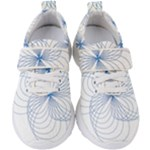 Spirograph Pattern Drawing Kids  Velcro Strap Shoes