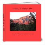Sedona, AZ 2007 - 8x8 Photo Book (20 pages)