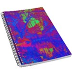 Atomic Garden 5.5  x 8.5  Notebook