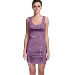 Plumelet Pen Ethnic Elegant Hippie Bodycon Dress