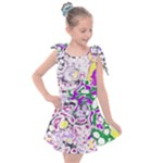 Sketchlines01 Kids  Tie Up Tunic Dress