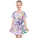 Sketchlines01 Kids  Smock Dress