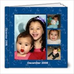 december 2008 - 8x8 Photo Book (20 pages)
