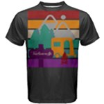 Rainbow Mountain Men s Cotton Tee