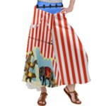Big Top memories Satin Palazzo Pants