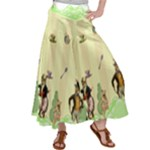 Garden Party Satin Palazzo Pants