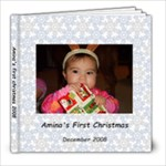 amina s first christmas - 8x8 Photo Book (30 pages)