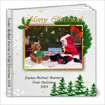 Jayden s 1st Christmas - 8x8 Photo Book (20 pages)