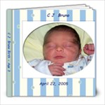 CJ Birth - Age 3 - 8x8 Photo Book (20 pages)