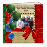 Partlow Christmas 2008 - 8x8 Photo Book (20 pages)