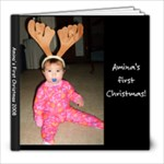 amina first christmas - 8x8 Photo Book (20 pages)