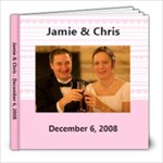 Wedding Album J&C - 8x8 Photo Book (20 pages)