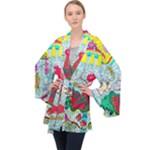 Supersonic Key West Gypsy Blast Velvet Kimono Robe