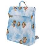 clouds angel cherubs  Flap Top Backpack