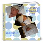 vickys baby book - 8x8 Photo Book (20 pages)