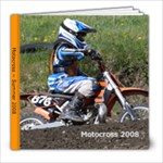 motocross album - 8x8 Photo Book (20 pages)