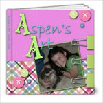 Aspen s Art - 8x8 Photo Book (20 pages)