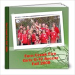 Fern Creek Fire Fall 2008  - 8x8 Photo Book (30 pages)