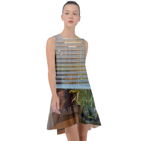 Frill Swing Dress